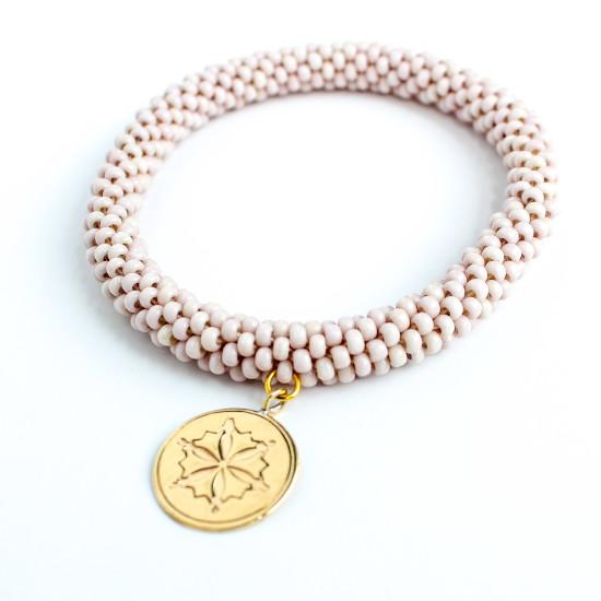 Blush Charm Style Bracelet