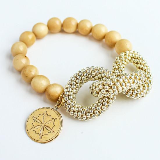 Gold Link Style Bracelet