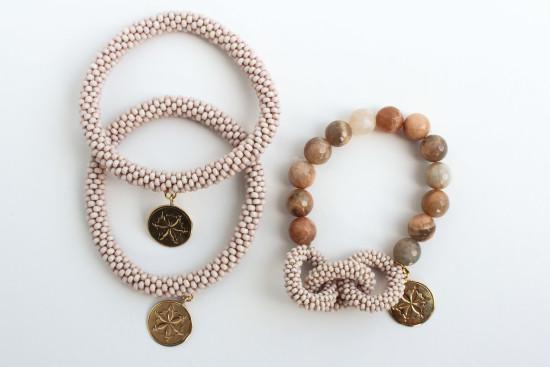Blush Bracelet Set